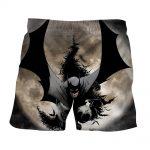 Batman The Dark Knight Ready To Save Full Print Short - Superheroes Gears