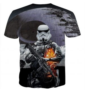 Star Wars Battlefront Storm Troopers Trending Cool Design T-Shirt