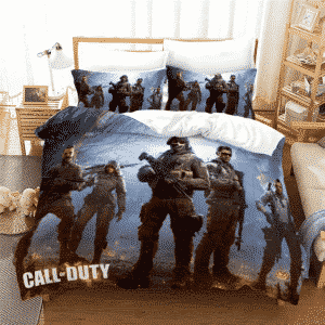 Call of Duty Mobile Ghost and Squad Halloween Bedding Set