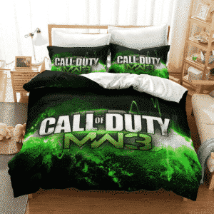 Call of Duty Modern Warfare 3 Neon Green Gaming Bedding Set