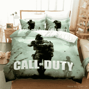 Call of Duty Soldiers in Warzone Cinematic Bedding Set