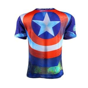 Captain America Age of Ultron Edition Costume Cool Trendy T-shirt - Superheroes Gears