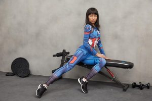 Captain America Cool Design Compression Women Cosplay Workout Leggings - Superheroes Gears