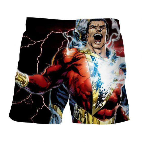Captain Marvel Superhero Epic Charged Electric Shorts