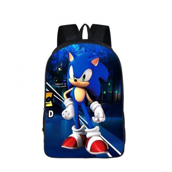 Confident Sonic The Hedgehog Classic School Backpack Bag