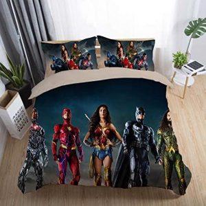 DC Justice League's 2017 Movie Superheroes Bedding Set