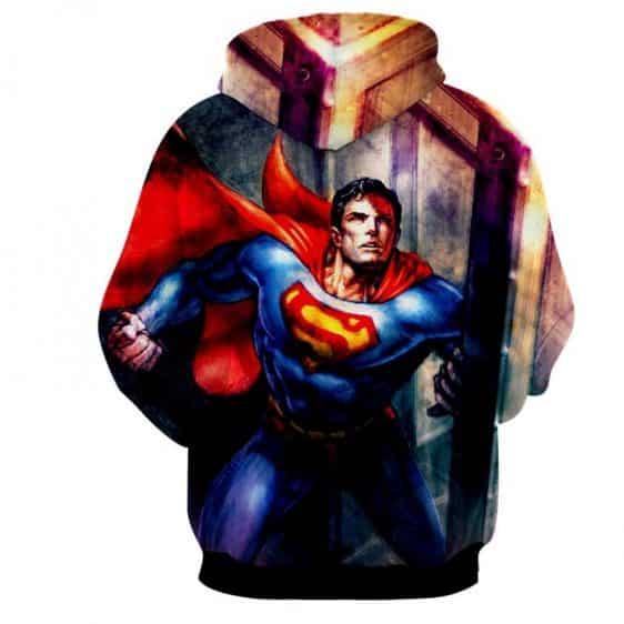 DC Comics American Superhero Superman Full Print Hoodie