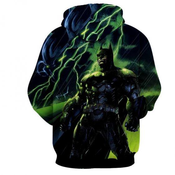 DC Comics Batman The Dark Knight Thunderlight Hoodie - Superheroes Gears