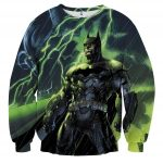 DC Comics Batman The Dark Knight Thunderlight Sweatshirt - Superheroes Gears