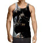 DC Comics Brave Batman The Dark Knight Full Print Tank Top - Superheroes Gears