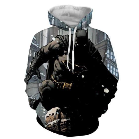 DC Comics Brave Batman The Dark Knight Full Print Hoodie - Superheroes Gears