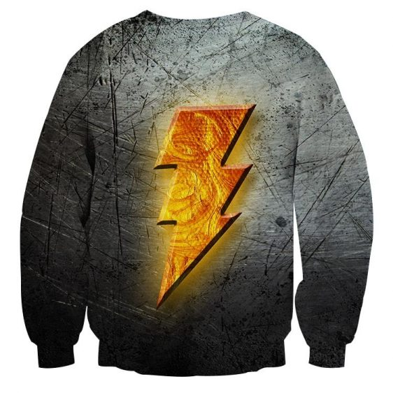 DC Comics Captain Marvel Shazam! Logo Cool 3D Print Sweatshirt