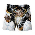 DC Comics Epic Godly Captain Marvel Shazam White Shorts