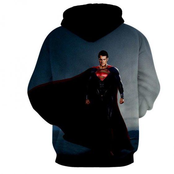 DC Comics Fierce Superman Design Full Print Hoodie