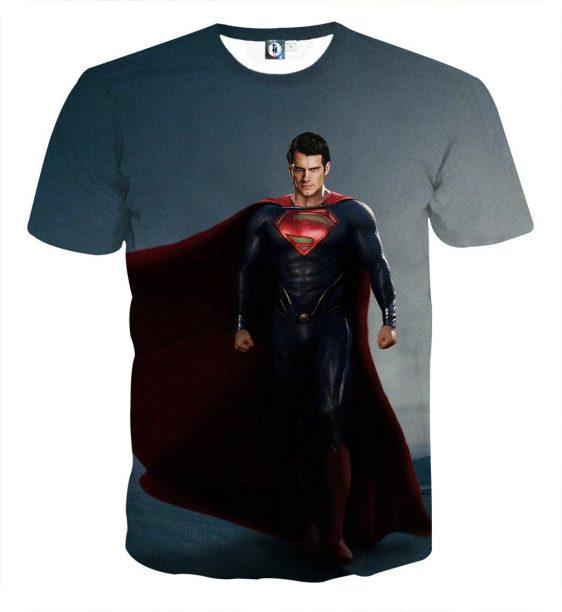 DC Comics Fierce Superman Design Full Print T-Shirt