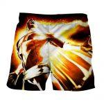 DC Comics Mightiest Mortal Shazam Epic Print Shorts
