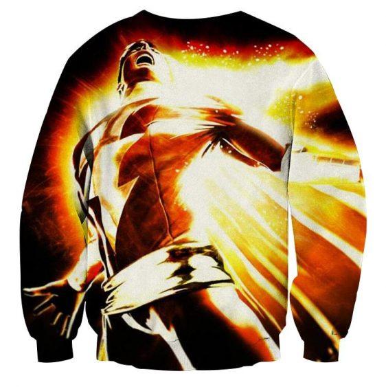 DC Comics Mightiest Mortal Shazam Epic Print Sweatshirt
