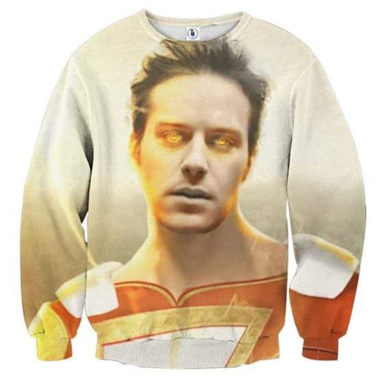 DC Comics Shazam Billy Batson Portrait 3D Print Sweatshirt