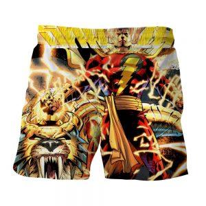 DC Comics Shazam Godly Lightning Blasts 3D Print Shorts
