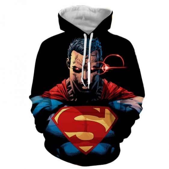 DC Comics Superman In Beast Mode Design Full Print Hoodie