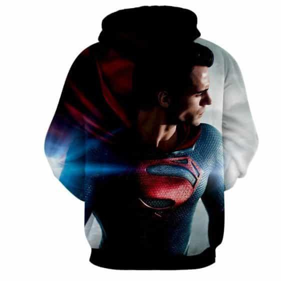 DC Comics Superman Side View Design Full Print Hoodie