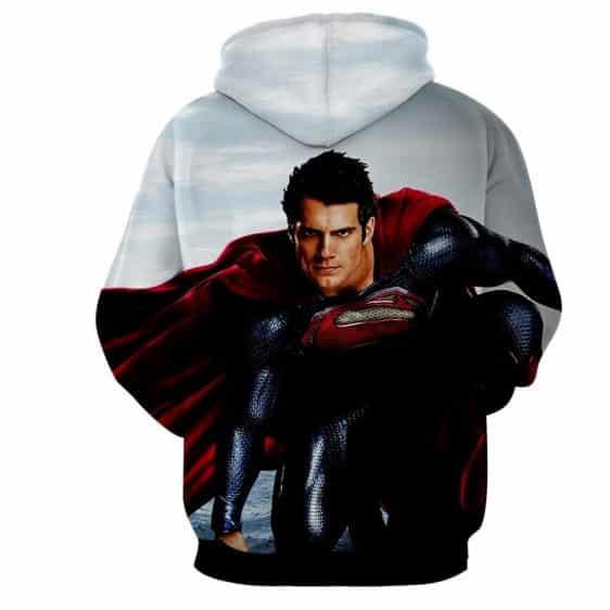 DC Comics The Good-Looking Superman Design Full Print Hoodie