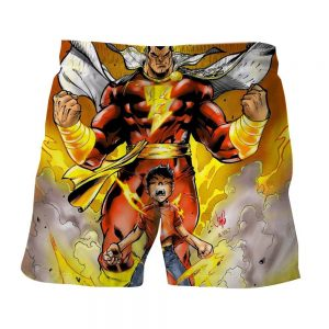 DC Comics Young Billy Shazam Magical Transformation Shorts