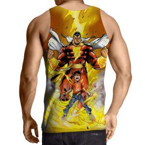 DC Comics Young Billy Shazam Magical Transformation Tank Top