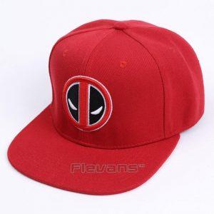 Deadpool Cool Symbol Red Awesome Snapback Baseball Hat Cap - Superheroes Gears