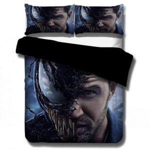 Eddie Brock Venom Symbiotic Alien Lifeform Bedding Set