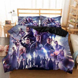 Endgame Avengers Assemble Thanos Final War Bedding Set