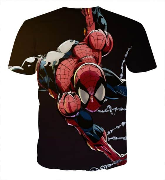 Extra Strong Spider-Man Ability Design Full Print T-Shirt