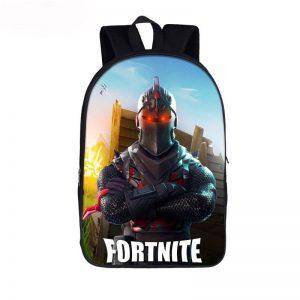 Fortnite Battle Royal Armored Black Knight Skin Backpack Bag
