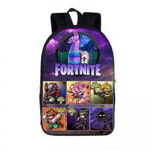 Fortnite Battle Royal Chibi Characters Supply Llama Backpack