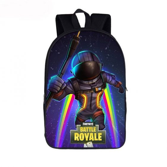 Fortnite Battle Royal Dark Voyager Rainbow Jetpack Backpack
