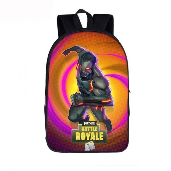 Fortnite Battle Royal Omega Skin Neon Lights Orange Backpack