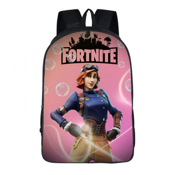 Fortnite Battle Royal Rare Airheart Aviation Outfit Pink Bag