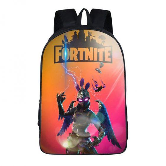 Fortnite Battle Royal Ravage Dark Wings Violet Feathers Bag
