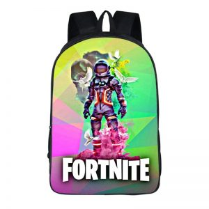 Fortnite Battle Royal Space Suit Outfit Colorful Backpack Bag