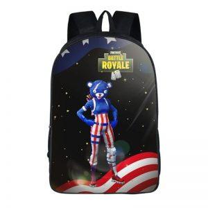 Fortnite Battle Royale Fireworks Team Leader Black Backpack