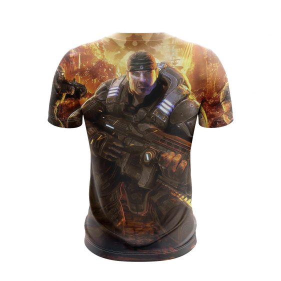 Gears Of War Legendary Sergeant Marcus Michael Fenix T-Shirt