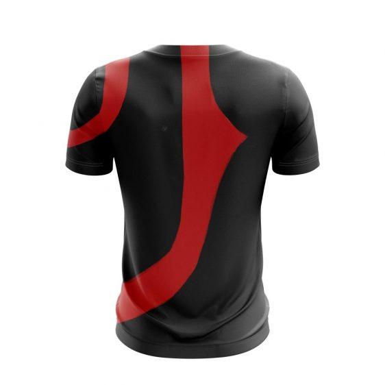 God Of War Black Kratos War Paint Tattoo Epic Gaming T-Shirt