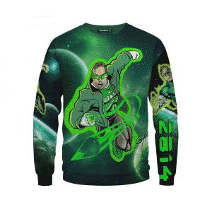 Great Mike's Customized Awesome Green Lantern Sweatshirt