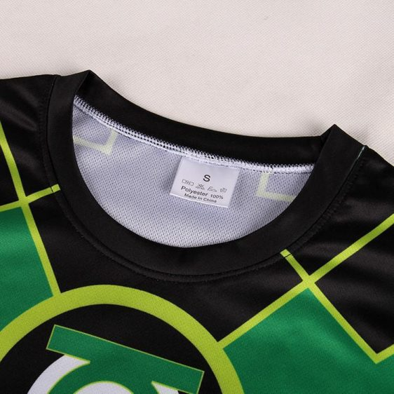 Green Lantern DC Comic Superhero Modern Design 3D Printed T-shirt - Superheroes Gears