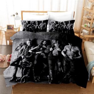 Guardians Of The Galaxy Characters Monochromic Bedding Set