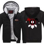 Harley Quinn Clown Minimalist Symbol Cool Hooded Jacket - Superheroes Gears