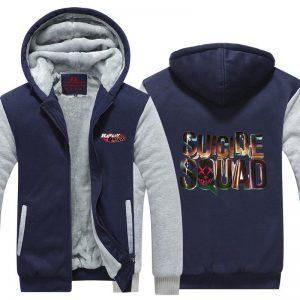 Harley Quinn Suicide Squad Symbol Dope 3D Hooded Jacket - Superheroes Gears