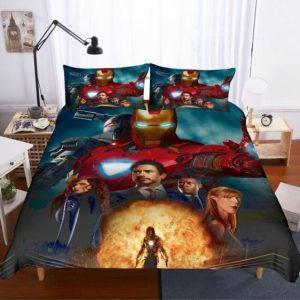 Iron Man 2 Ivan Vanko Electric-Based Whips Bedding Set