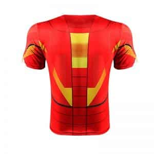 Iron Man Marvel Superhero Suit up Mark VI Stylish 3D Workout T-shirt - Superheroes Gears