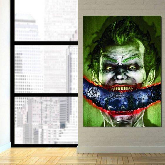 Joker Sent To Arkham Asylum 1pcs Vertical Canvas Print